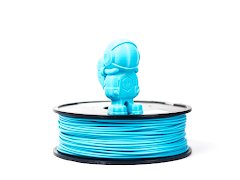 Light Blue MH Build Series PLA Filament - 1.75mm (1kg)