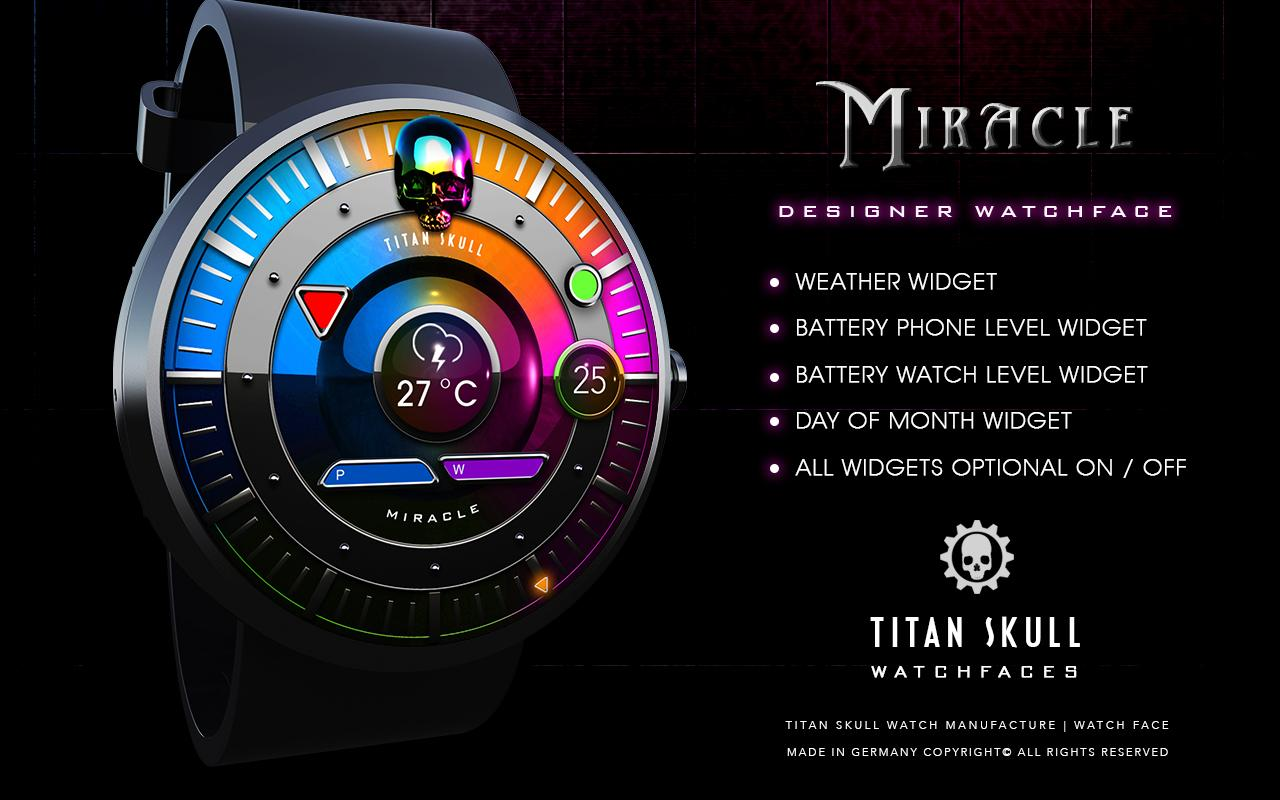 Miracle Watch Face- screenshot