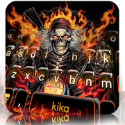 App Fire Skull Rider Keyboard Theme APK for Windows Phone