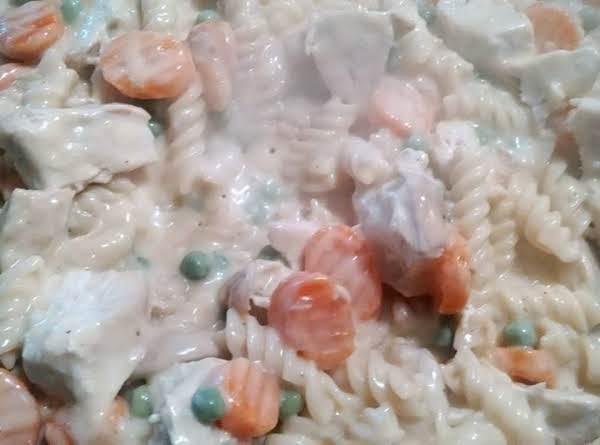 Chicken Rotini Skillet Casserole Recipe