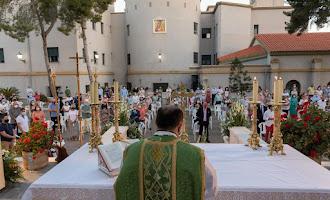 Aguadulce se despide con emoción del párroco Ramón Garrido