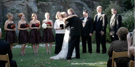 Photo: Rock Quarry Garden - Greenville, SC - 10/09 - First Kiss~ Photo Courtesy Dan Murray - www.DanMurrayPhotography.com Brenda M. Owen - http://WeddingWoman.net