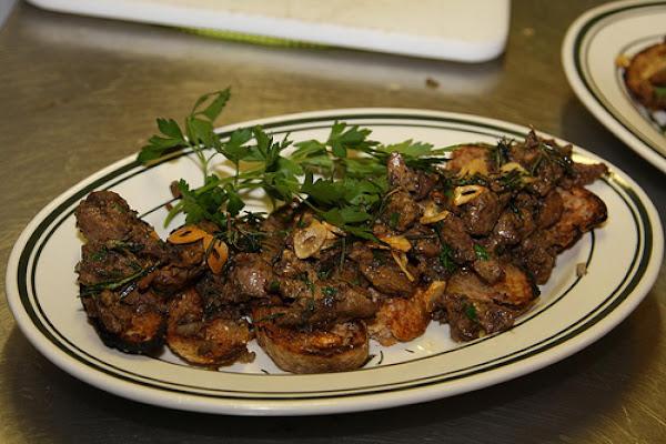 Chicken Liver Appetizers Recipe