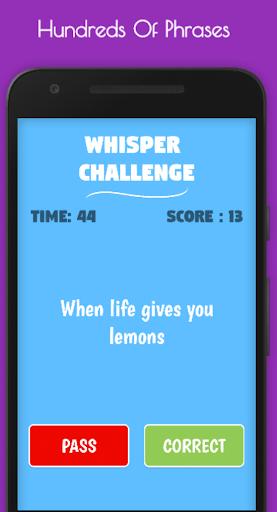 The Whisper Challenge apkdebit screenshots 1