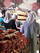 Photo: Participants of International Medical Corps' Cost of Diet training in Amman, Jordan visit a grocery store to conduct a market survey assessment during the six-day workshop in July 2016.  Submitted by The TOPS Program