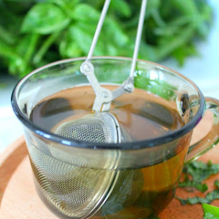 Fresh Basil Tea