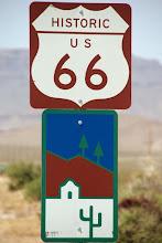 Photo: Historic Route 66, Black Mountains, Arizona