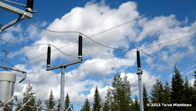 Photo: Sähkö on otettava vaikka ilmasta.