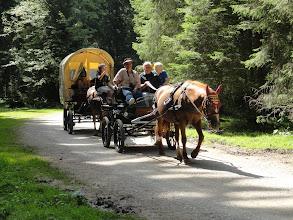 Photo: Jeder Pionier lenkt seinen Wagen