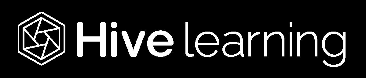 Hive white logo