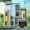 House 2 Floor Minimalist Design icon