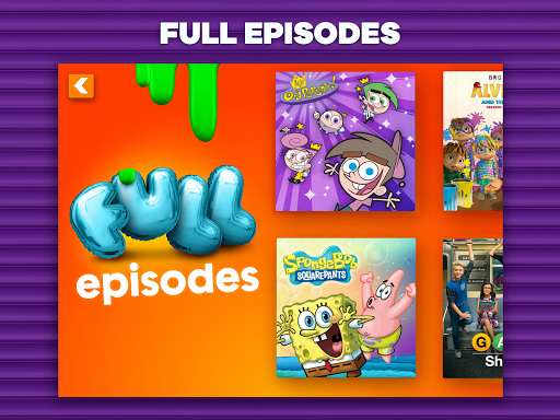 Nickelodeon play gratis