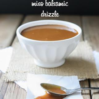 Maple Miso Balsamic Sauce.