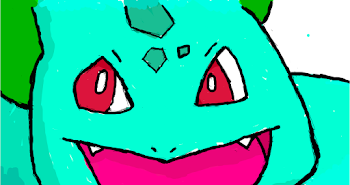 coloured bulbasaur