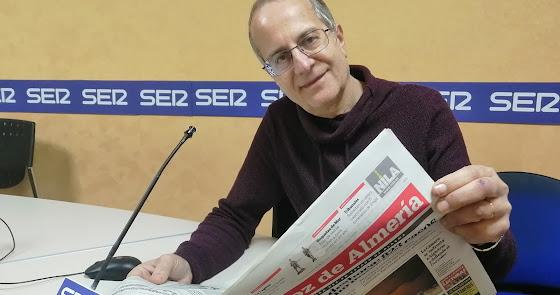 """Tony Fernández: """"Me pongo de pie con este Almería"""""""