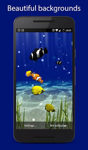 Underwater world aquarium