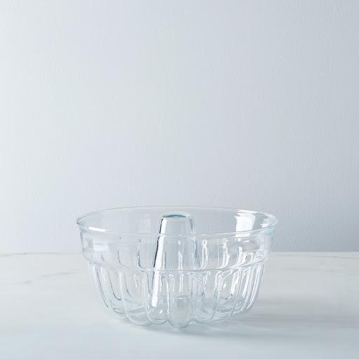 Borosilicate Glass Bundt Pan