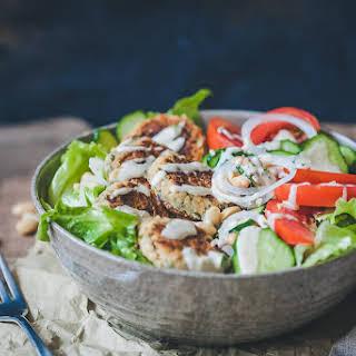 Leftover Falafel Salad.