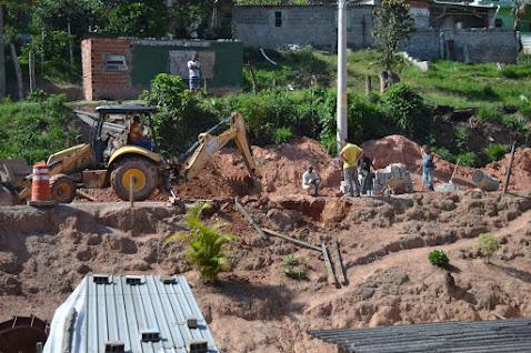 Embuarama: Prefeitura faz obras de melhoria no bairro