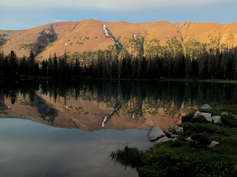 Photo: Lake BR-24 reflection
