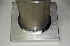アルミ溶接の製品写真