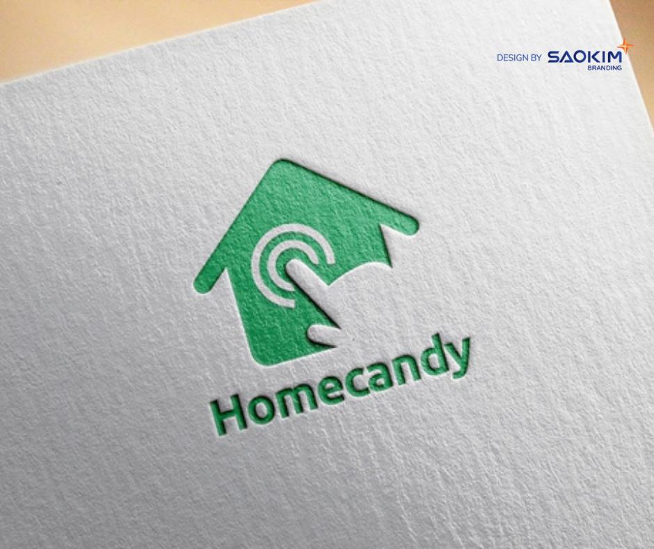 [Saokim.com.vn] Logo dự án bất động sản Homecandy thiết kế bởi Sao Kim Branding