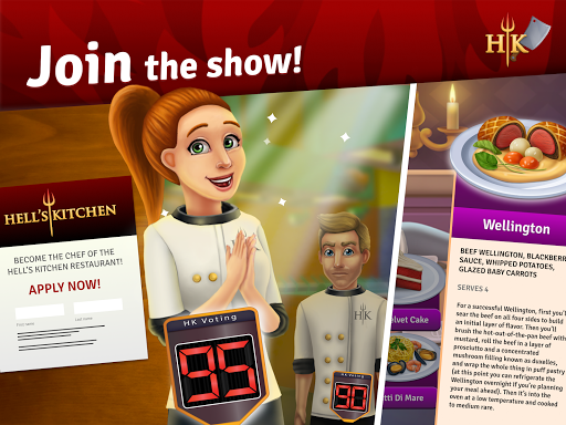 Hell's Kitchen: Match & Design  screenshots 17