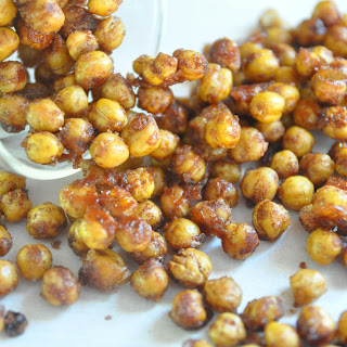 How To Make Sweet Roasted Chickpeas | Healthy Vegan Snack