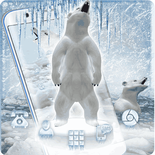 3D Ice Bear