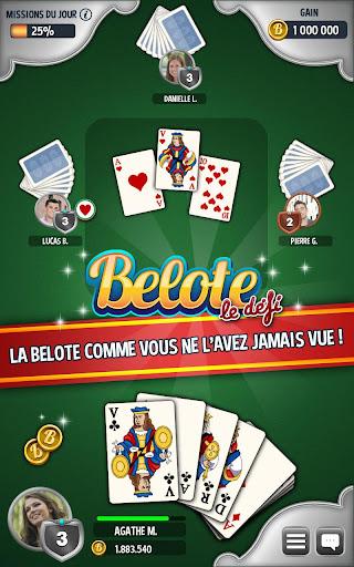 Belote & Coinche: le Défi 1.28.2 screenshots 1