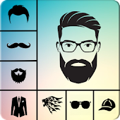 Man Face Editor App:Cool Beard,Hairstyle,Mustache