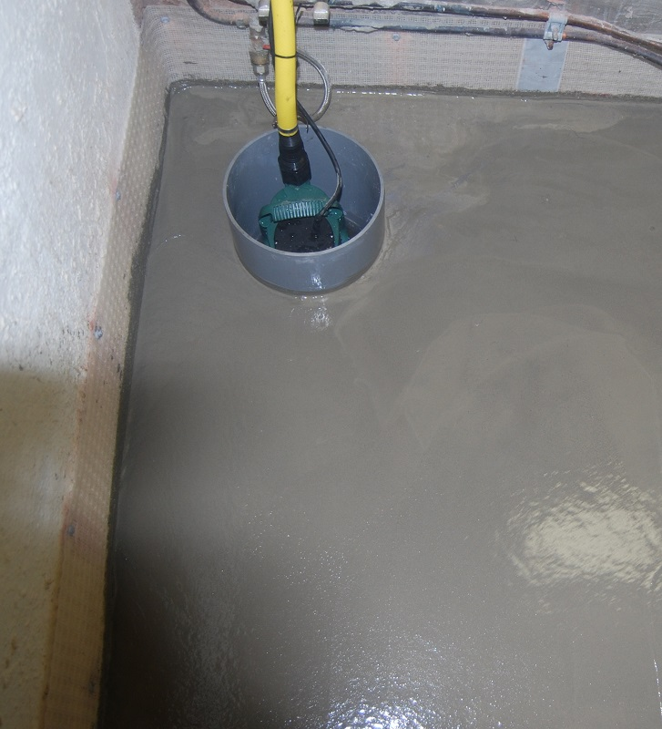 vloerrainage beton