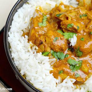 Pressure Cooker Indian Butter Chicken.