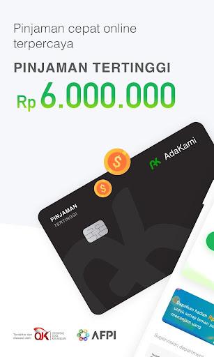 AdaKami -Pinjaman Dana Online Cepat Cair Dan Mudah  screenshots 1