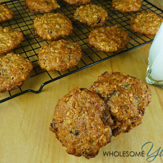 Healthy Almond Oatmeal Raisin Cookies (Gluten-free)