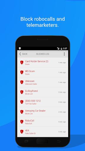 Call Control - #1 Call Blocker. Block Spam Calls! 2.19.2 screenshots 4