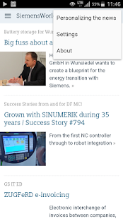 SiemensWorld- screenshot thumbnail