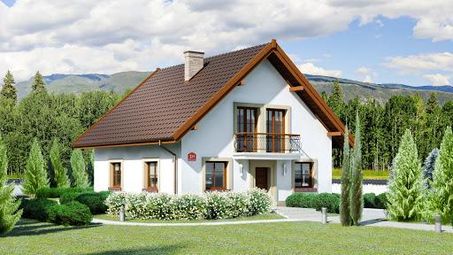 projekt Dom przy Oliwkowej H