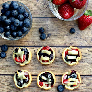 Easy Mini Berry Tarts