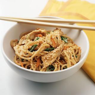 Thai Sesame Noodles.