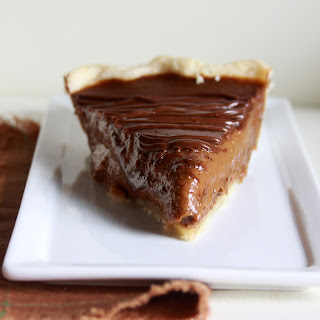 Chocolate-Pumpkin Pie (aka Pumpkin Spice Latte Pie)