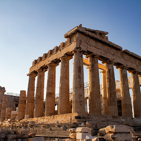 by William Stansbury - Buildings & Architecture Decaying & Abandoned ( greece, parthenon, acropolis, temple, athens,  )