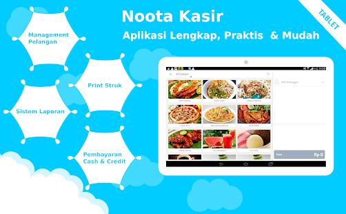 Noota Kasir Tablet - náhled