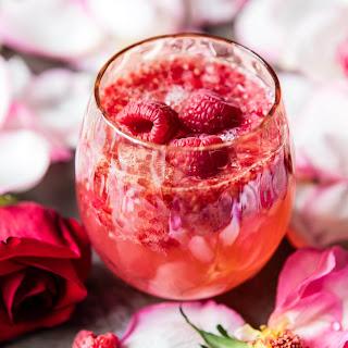 Raspberry Rose Tequila Kombucha..