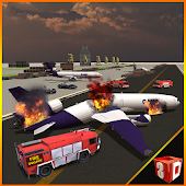 Plane Crash Truck Rescue 911
