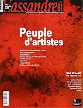Photo: © Olivier Perrot Couverture Cassandre 61 www.horschamp.org