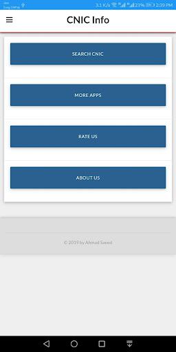 NADRA CNIC Information - kisi b CNIC ki Malomat App Report