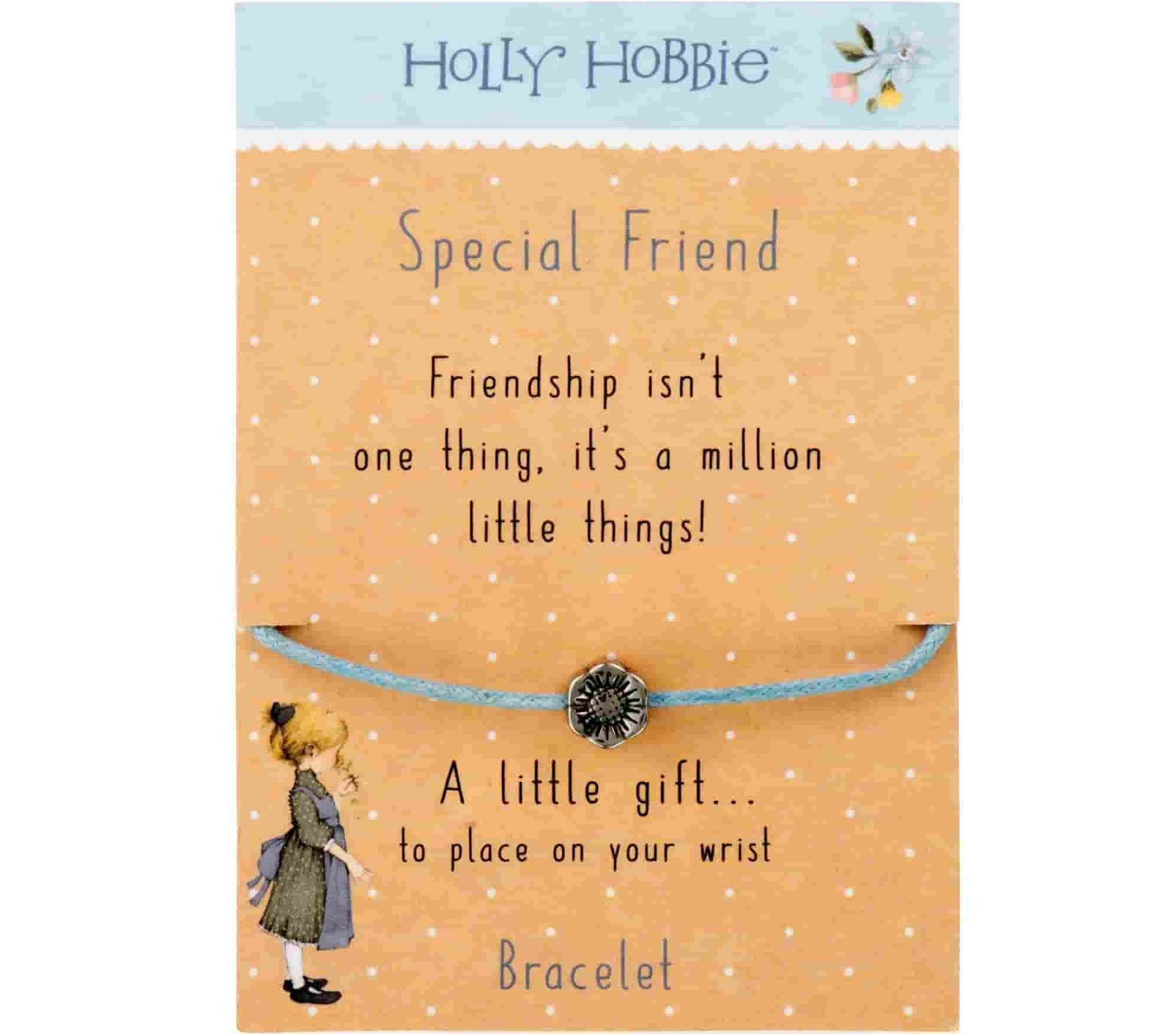 Gift Ideas for Bridesmaids; Clintons' holly hobby special friend bracelet
