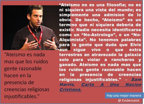 Noticias criminología. Ateísmo no es una filosofía, es admisión de lo obvio. Marisol Collazos Soto. Criminologia, ciencia, escepticismo