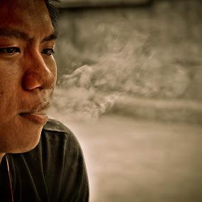 by Jr Flores - People Portraits of Men